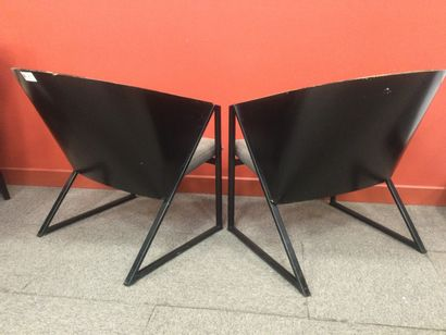 JOUKO JARVISALO 2 fauteuils ( état moyen )