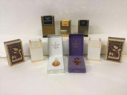 Collection de 9 miniatures pour la marque...
