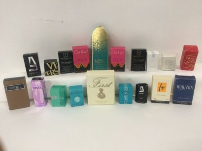 Collection de 19 miniatures de parfum : Van...