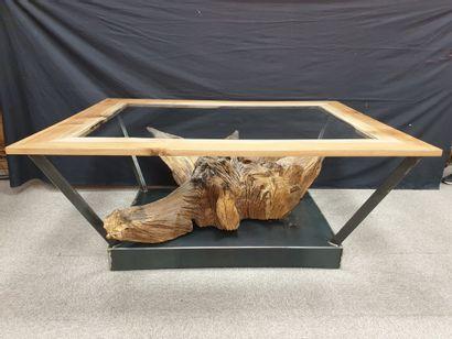 Très originale TABLE de salle à manger de...