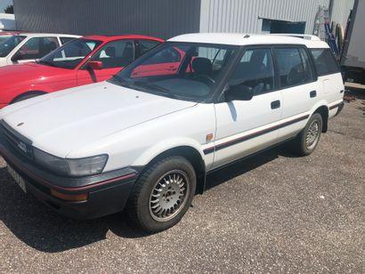 TOYOTA Corolla 4X4 de 1988 kilomètrage :...