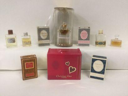 Collection de 10 miniatures de parfum pour...