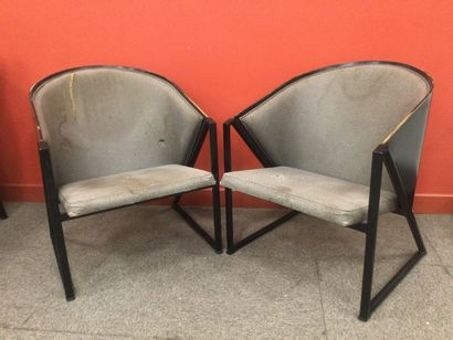 JOUKO JARVISALO 2 fauteuils ( état moyen...