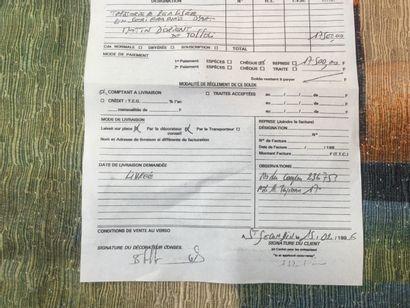Tapisserie d'Aubusson, Toffoli, Manufacture Robert Four 115x154 ( avec certificat...