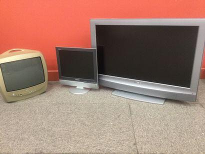 Lot de 3 téléviseurs: PHILLIPS, SONY, SA...