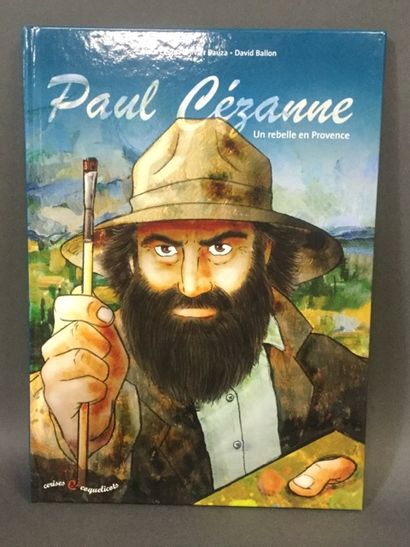 bandes dessinées: Cézanne : 820 ex.
