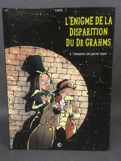 bandes dessinées: Docteur Grahms tome 2 :...