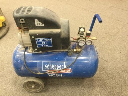 COMPRESSEUR SCHEPPACH HC 54. 50 litres 8...