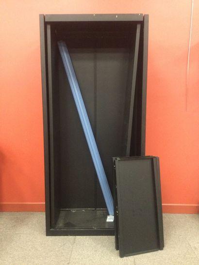 1 armoire métallique ( à remonter )
