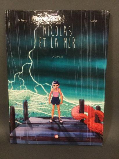 bandes dessinées: Nicolas et la mer tome...