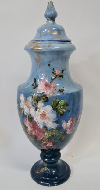 LONGWY par Emmanuel KILBERT, Vase couvert...