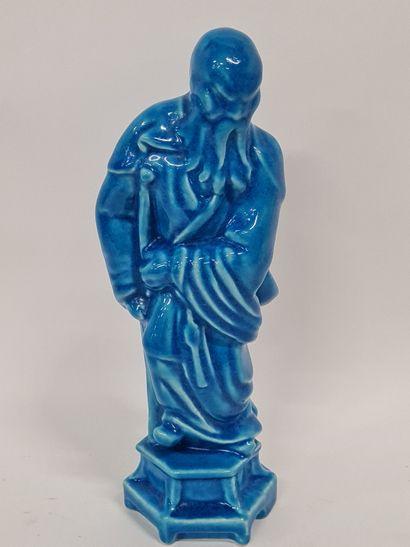 LONGWY, Immortel 1 , statuette par moulage...