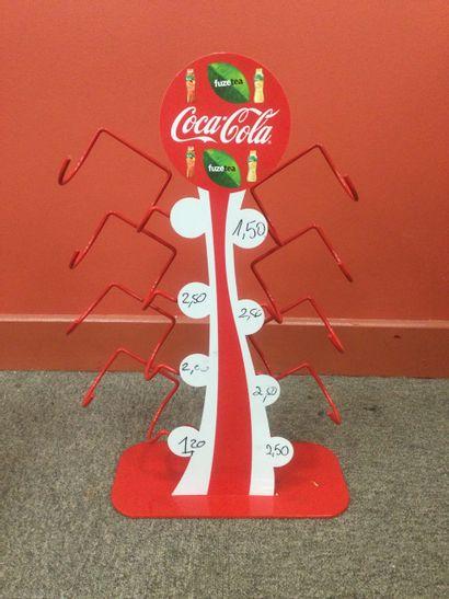 Présentoir à canette coca cola