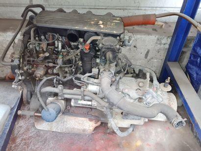 Moteur 306 diesel 1,9 L diesel.
