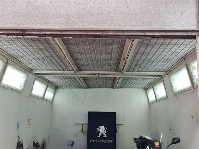 Cabine de peinture de marque OMIA VOLCAN avec chaudière fuel