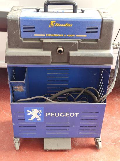 Opacimètre TECNOTEST SMOKE METER 495/01