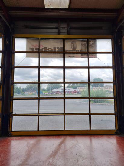 Lot de 2 portes sectionnelles entièrement...