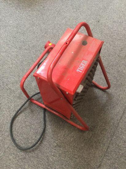 Chauffage de chantier de marque FRICO TIGER P 93-0 aérotherme mobile électrique...