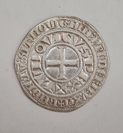 LOUIS IX, Saint Louis (1226-1270), Gros tournois,...