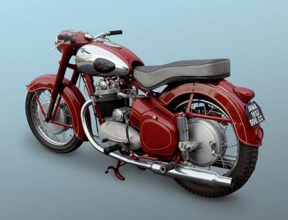 JAWA 500 cm3 bicylindres ACT Modèle de 1957 25547 KMS Excellent état