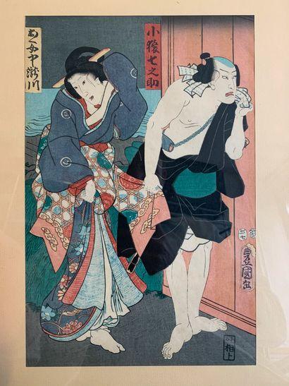 UTAGAWA TOYOKUNI III (1786-1865)