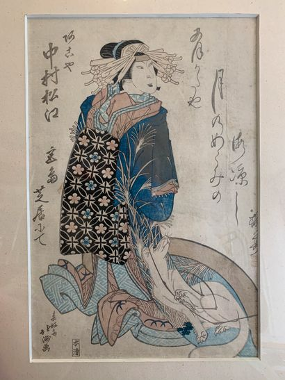 SHUNKÔSAI HOKUSHÛ (actif 1810-1832)