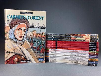 Ferrandez & - Carnets d'Orient &