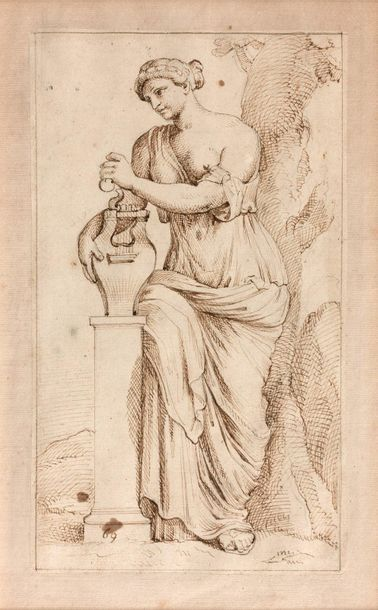 18- François PERRIER (attribué à)  ''Allégories''...