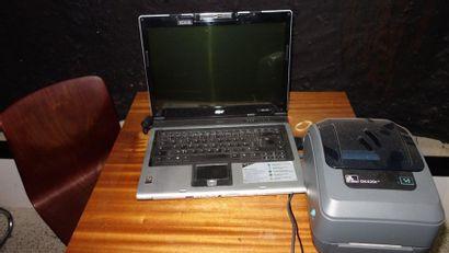 N° 8     1 ordinateur portable ACER  ...