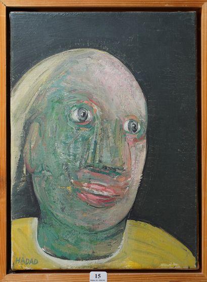15- A. HADDAD  ''L'homme à la chemise jaune''...