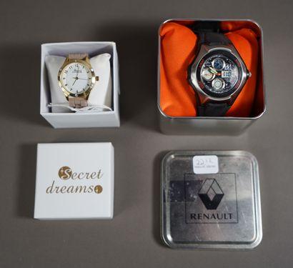 22- Deux montres : Renault et Sweet Drea...