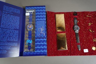 32- SWATCH  Deux montres vintage : ''Christmas...