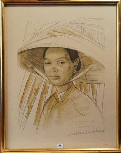 44- Marie-Antoinette BOULLARD-DEVE (1890-1970)...