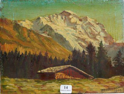 14- R. LE BOUGRE  ''Chalet de montagne''...