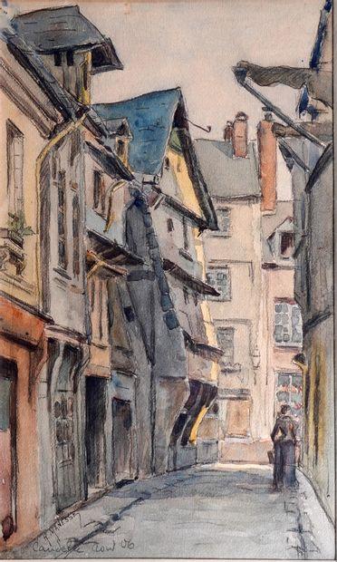 40- Georges-Henri MANESSE  ''Caudebec''...