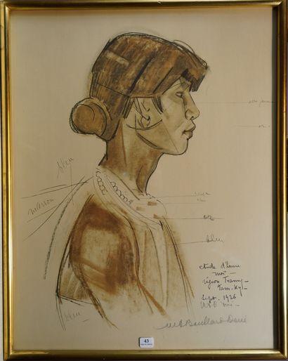 43- Marie-Antoinette BOULLARD-DEVE (1890-1970)...