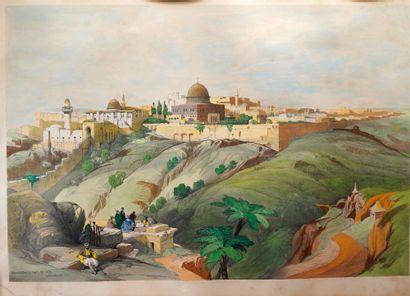47- David ROBERTS (d'après)  ''Jérusalem''...