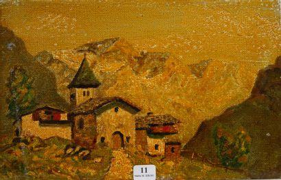 11- Ecole du Nord  ''Village de montagne''...