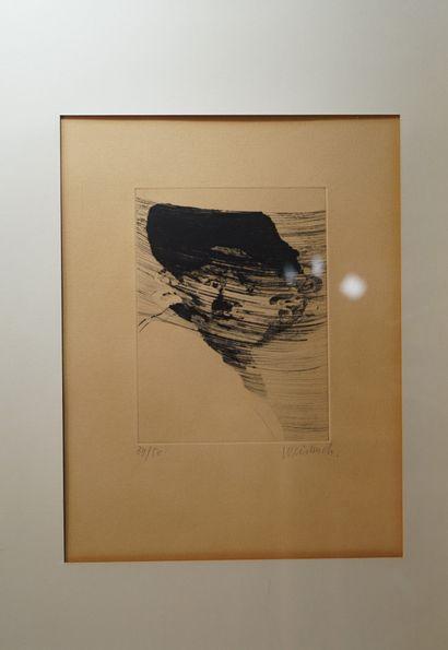 5- Claude WEISBUCH  ''Petit portrait étonné''...