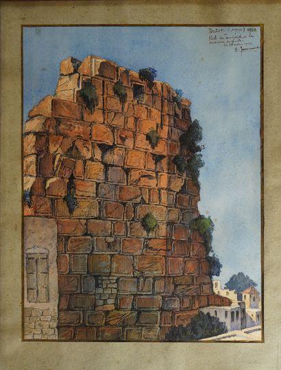 31- ''Reste des remparts de l'ancienne enceinte''...