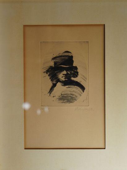 4- Claude WEISBUCH  ''Personnage au chapeau''...
