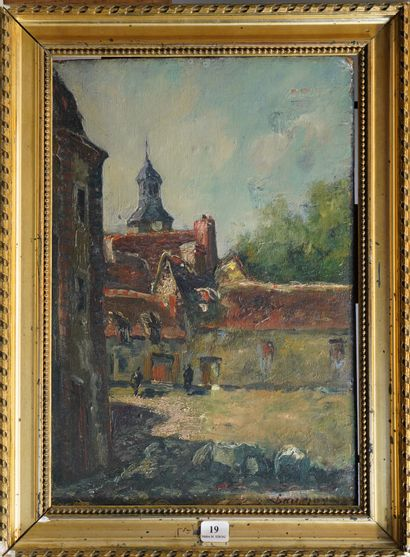 19- Louis Alphonse Abel LAUVRAY (1870-1950)...