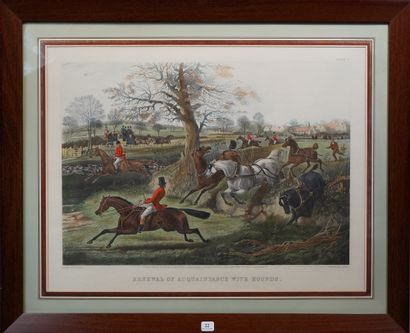 22- ''Renewal of acquaintance with hounds''...