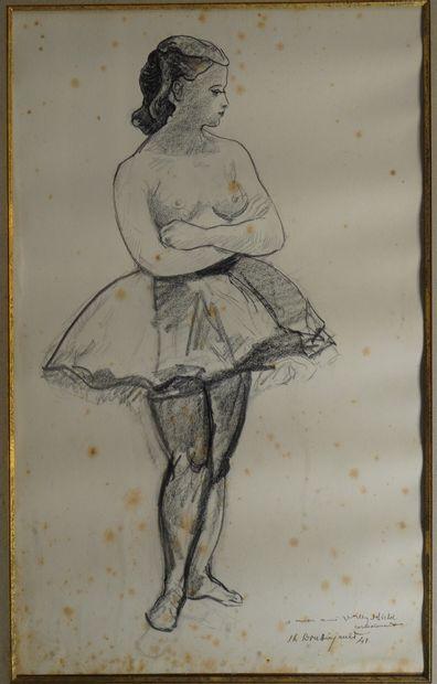 43- Jean-Louis BOUSSINGAULT  ''La danseuse''...