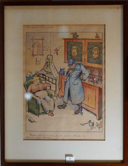 7- Eugène PILET  ''La prime à la natalité''...