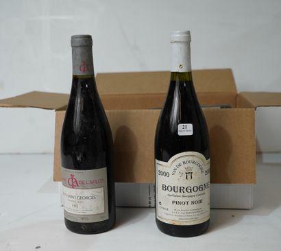 21- 5 bouteilles de Nuits St Georges Domaine...