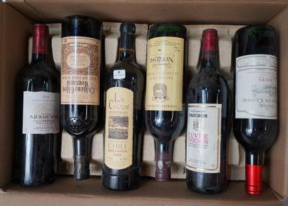 8- 12 bouteilles de Bordeaux divers