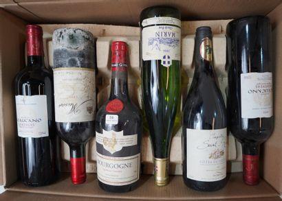 16- 12 bouteilles : Ventoux, Valreas, Savoir,...