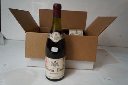 33- 5 bouteilles de Gigondas Château Raspail...
