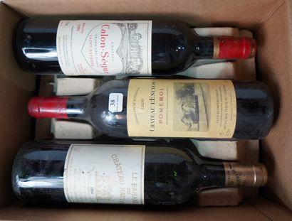 38- 4 bouteilles de Château L'Enclos Pomerol...